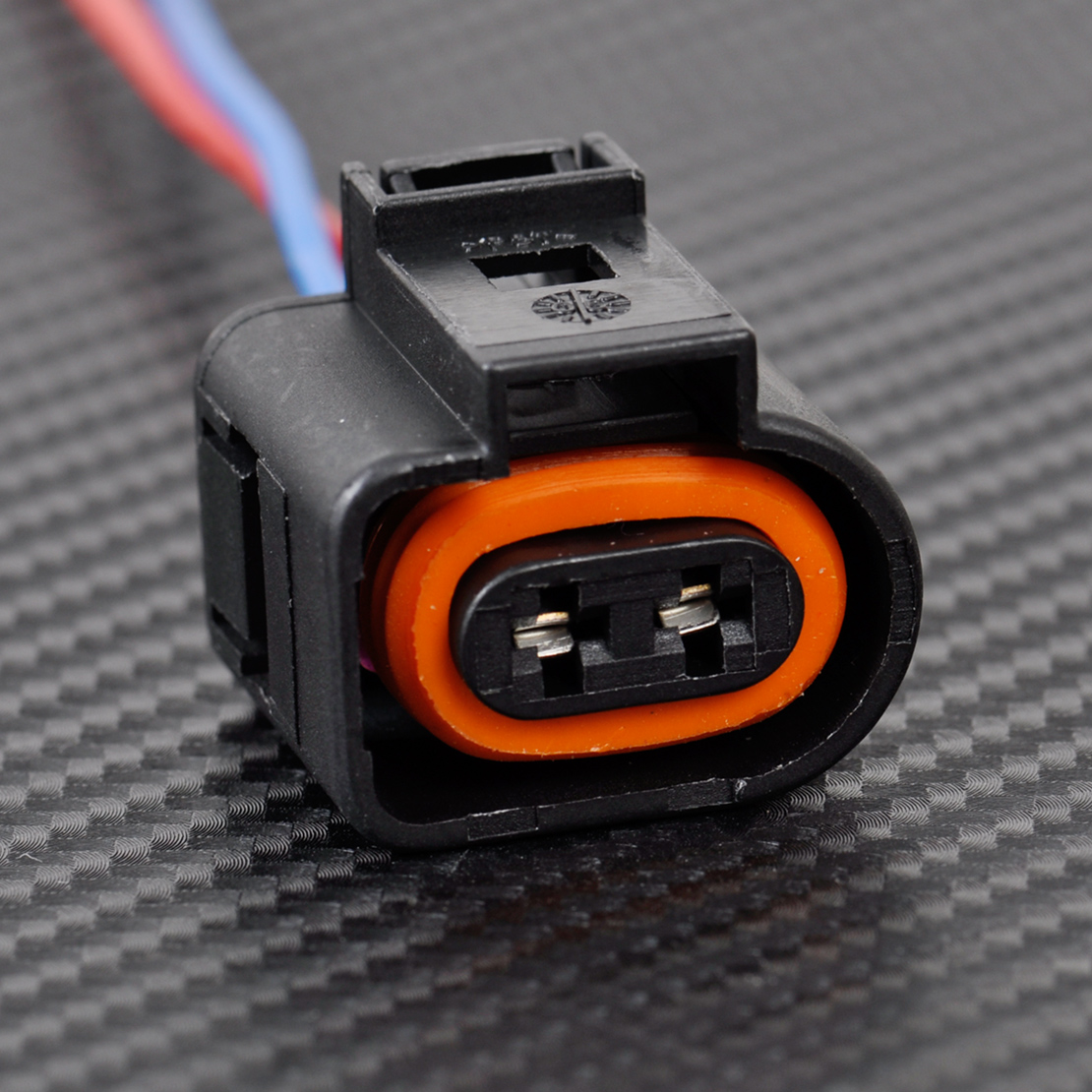 1j0973702 Electrical Harness 2 Pin Plug Connector Wiring Fit Vw Audi Connectors 2004 2009 Ebay