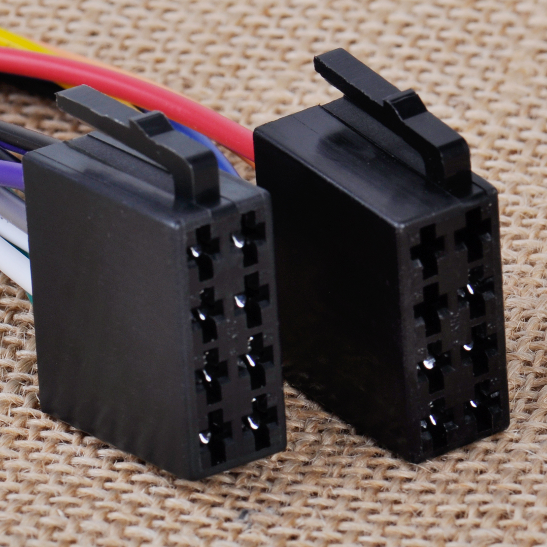 Snap New Universal Iso Wire Harness Female Adapter Connector Cable Car Stereo For System Ebay