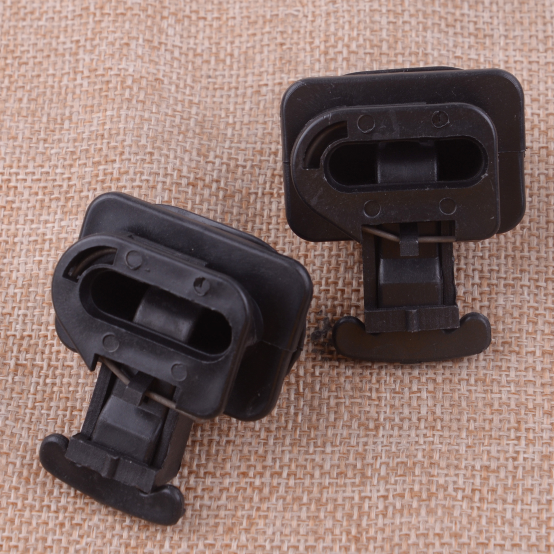2pcs Rear Seat Cushion Pad Clip Fit For Honda Accord