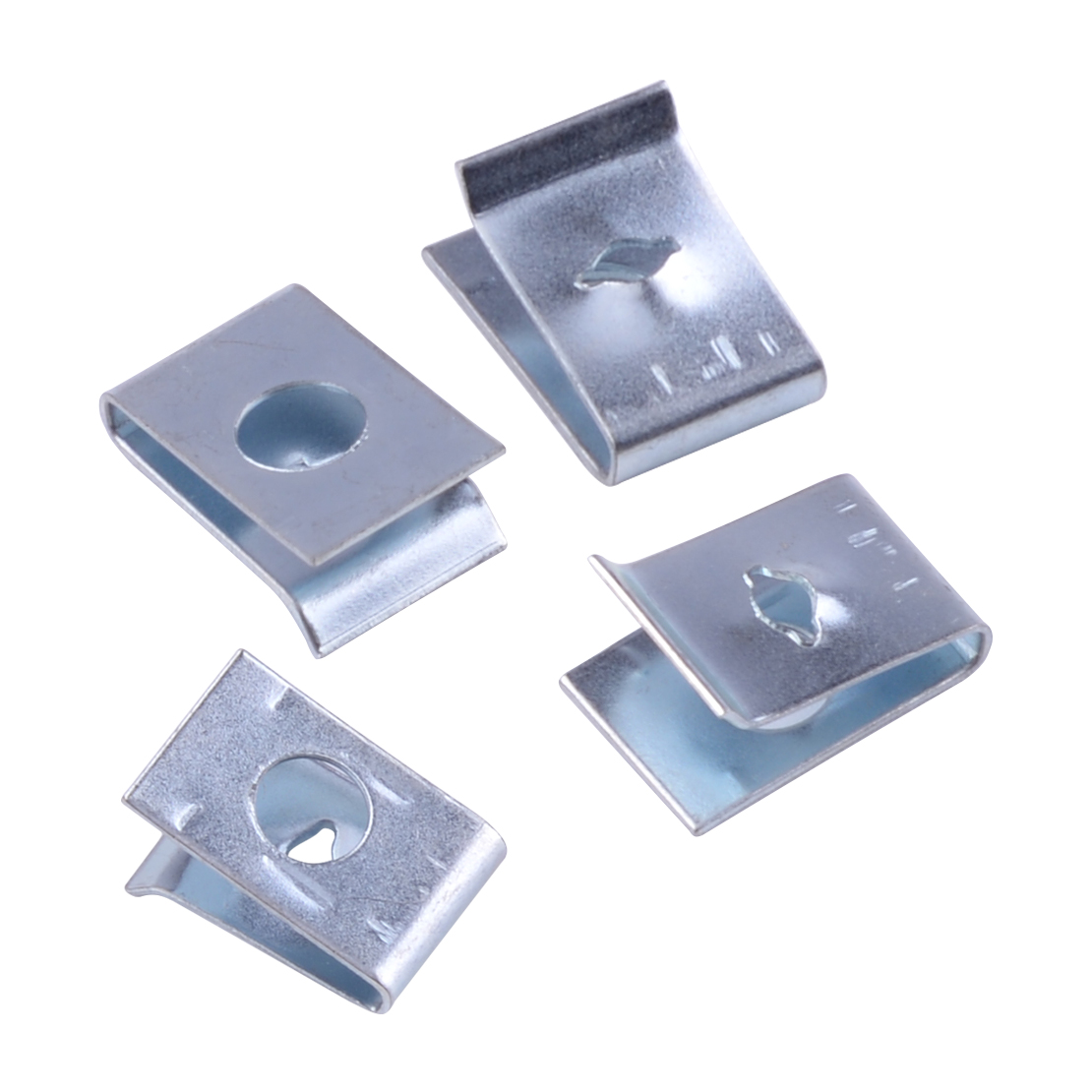 Trim Panels U Nuts Self 50pcs Tapping Spire Speed Fasteners Clip Interior Silver