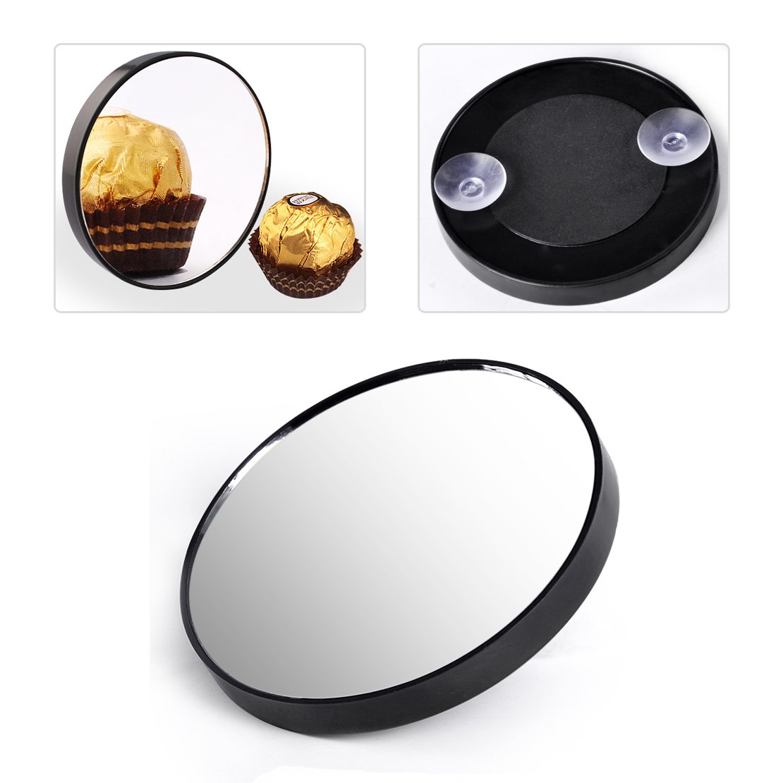 10x Makeup Mirror Magnifying With Two Suction Cups Times