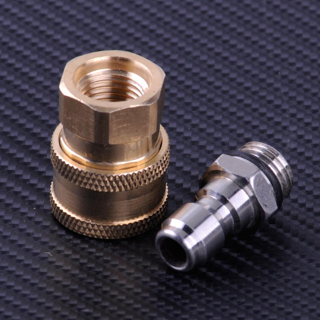 """Hochdruckreiniger Schlauchkupplung Steckkupplung M22x14mm 1//4/"""" Kupplung stecker"""